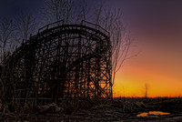 Chippewa Lake Park Roller Coaster of the past...