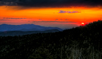Clingman's Dome Sunset