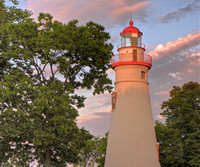 Marblehead Lighthouse Sunset